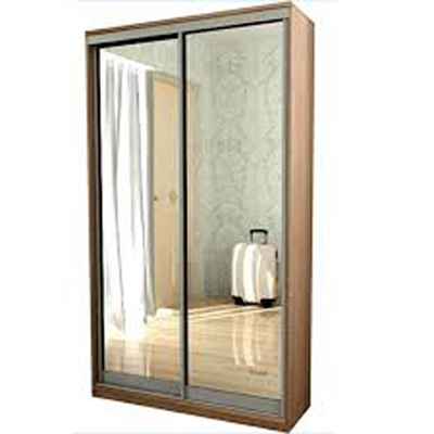 Шкаф-купе 1,7 м (2 зеркальные двери)