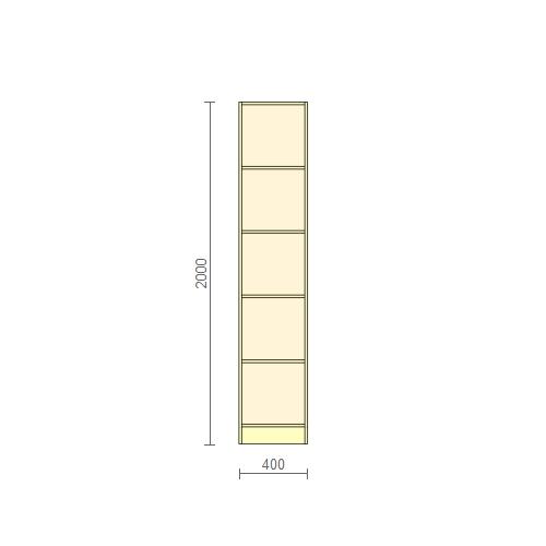 Стеллаж 400мм + дверь